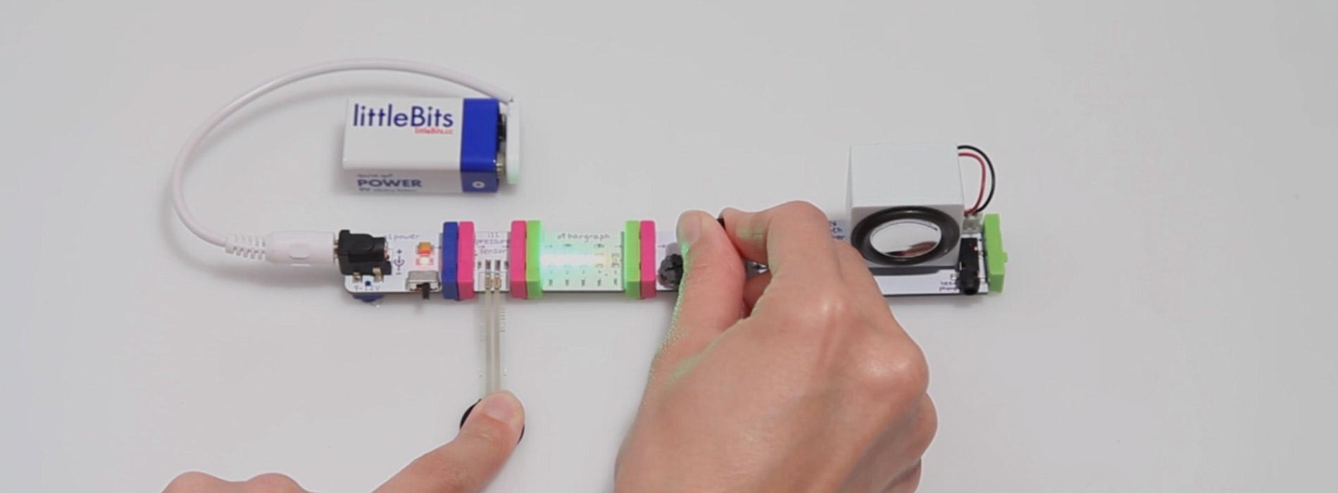 Circuit électronique composés de littlebits