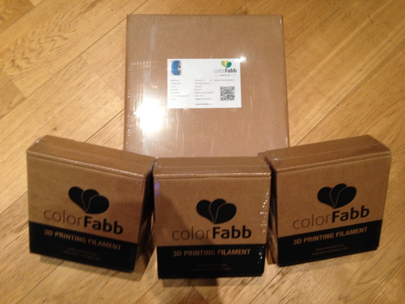 Commande de filament colorfabb
