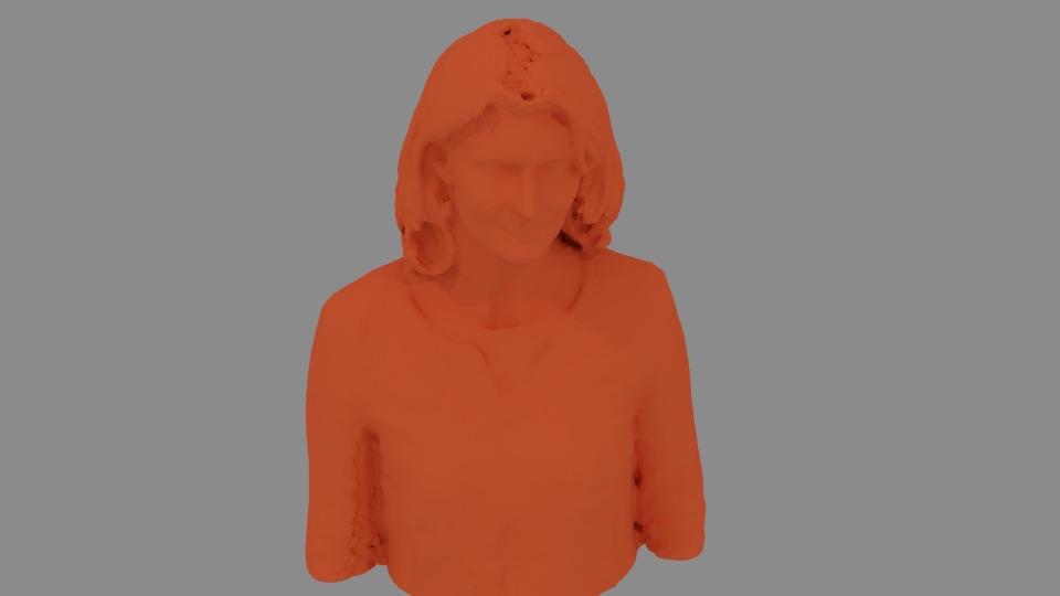 Rendu scan 3D kinect 360
