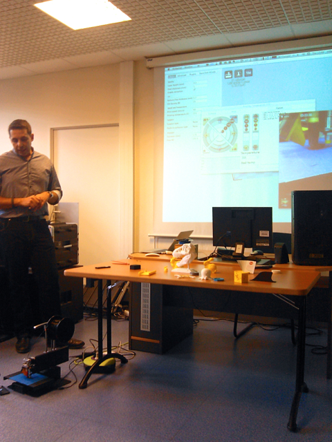 Initiation à l'impression 3D des BTS NRC du Lycée Paul Langevin à Sainte-Geneviève-des-Bois