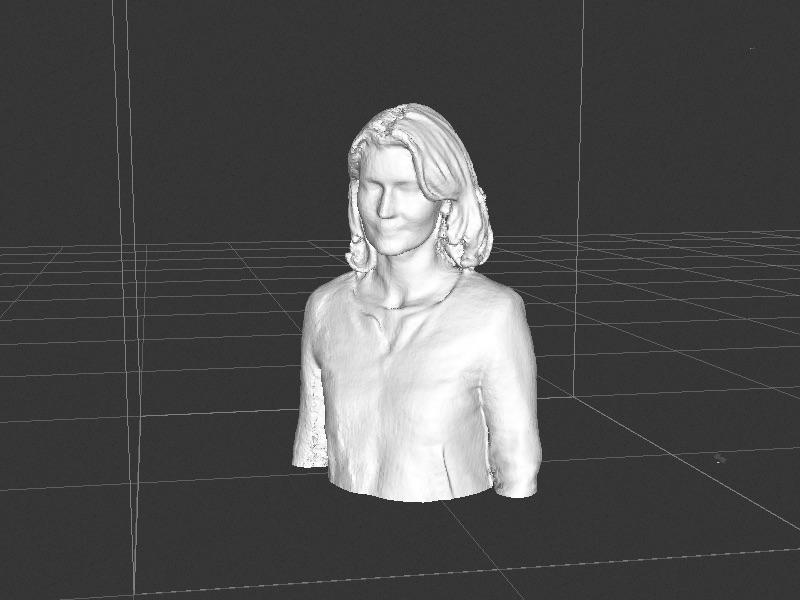Scan 3D à partir d'un kinect 360